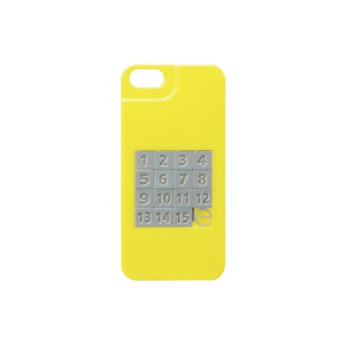 ELECOM iPhone 5用 シェルカバー ゲームケース 15パズル PS-A12PVGM4