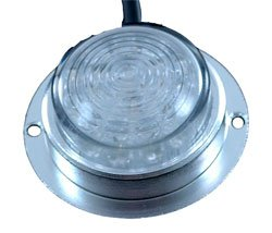 Surface Mount Led Light - Machined Aluminum - 12 & 24 Volts Dc - 60Ma Draw - Courtesy Or Down Light(
