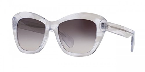 Oliver Peoples Emmy Ghost with Silver Flash Mirror Sunglasses - OV5272S 1442/6I