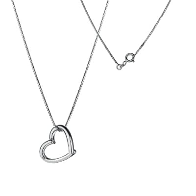 Hot Diamonds Just Add Love Silver and Diamond Pendant 41 length + 5 centimeters extender