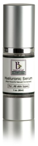 Be Natural Organics Hyaluronic Serum 1Oz (30Ml)