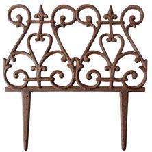 cast iron beetzaun la vendee flower bed edging. Black Bedroom Furniture Sets. Home Design Ideas