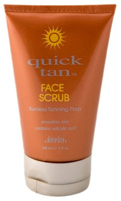 Body Drench Quick Tan Face Scrub Sunless Tanning Prep 118ml