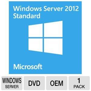 Microsoft Windows Server 2012 Standard - 2 CPUs/2VM Base License