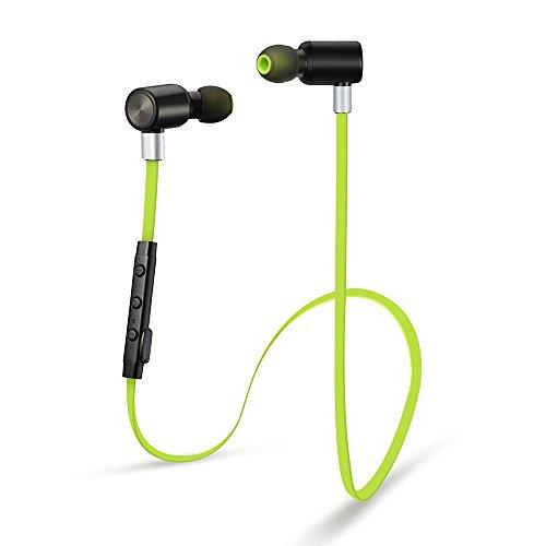 VtinR Sports Headphones Bluetooth 41 Noise Isolating Wireless Headset W Microphone Light Weight