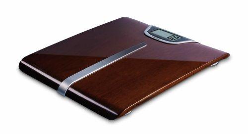 Soehnle Lifestyle Legno Digital Bathroom Scales 63200 - Dark Wood Veneer