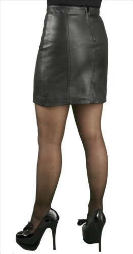 Soft Leather Mini Skirt, 16