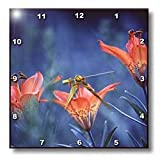 Alberta, Jasper National Park. Wood lily flowers-CN01 BJA0004 - Janyes Gallery - 10x10 Wall Clock