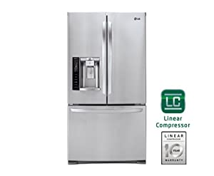 LG LFX28968ST 27.6 Cu. Ft. Stainless Steel French Door Refrigerator - Energy Star by LG