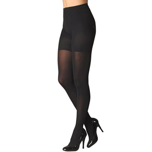 3 Pair Berkshire 4808 Opaque Tights Plus Size Control Top