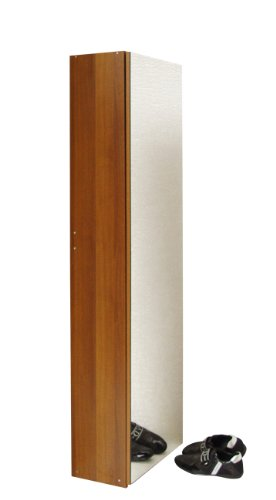 Valdomo 7251/12 Scarpiera Anta a Specchio, Legno, Noce, 50x29x180 cm
