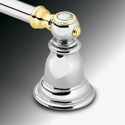 Creative Specialties CSI YB5418CP Chrome/Polished Brass Moen - Kingsley 18 Inch Towel Bar