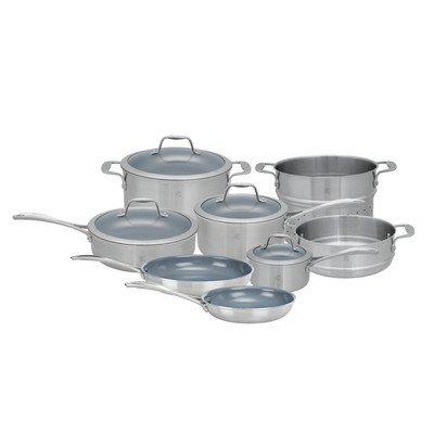 Zwilling J.A. Henckels Spirit Ceramic Coated Set - 12-pc (Henckels Pasta compare prices)