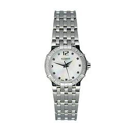 Wittnauer Warwick White Mother-Of-Pearl Womens Diamond Bracelet Watch - Wittnauer 10R028