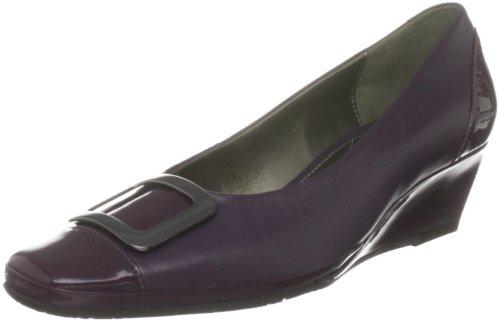 Van Dal Women's Roanne Purple Wedges Heels 1588920 6 UK