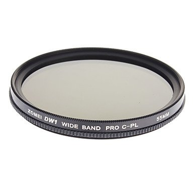 Peach Zomei Professional Optical Cpl-Slim Filters Super Circular Polarizer Hd Class Filter (55Mm)