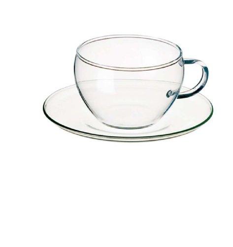Bohemia Cristal Eva 093/006/011 Set 4 tazze da cappuccino 250 ml