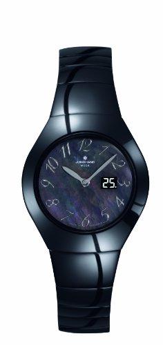 Junghans Damen-Armbanduhr XS Aura Analog Keramik 013/1101.44