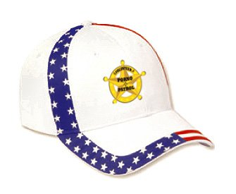 VOLUNTEER PORNO PATROL USA Flag Hat / Baseball Cap
