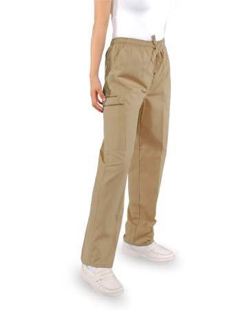 Unisex Pants with (2) Cargo Pockets - Full Elastic Waist with Drawstring - Petite Size Style# B300P unisex pants with 2 cargo pockets full elastic waist with drawstring petite size style b300p