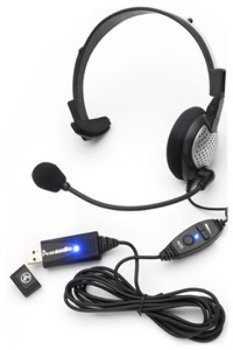 Wmu Usb High Quality Digital Monural Headset (Pack Of 1)