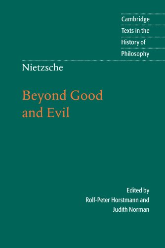 Nietzsche: Beyond Good and Evil: Prelude to a Philosophy...