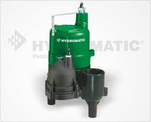 Hydromatic Bv40Av1 Submersible Sewage Ejector Pump (Automatic), 10' Power Cord