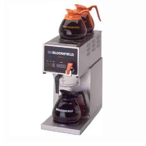 Bloomfield 1012D3F E.B.C Coffee Brewer, Automatic, Three Warmer, In-Line, 21