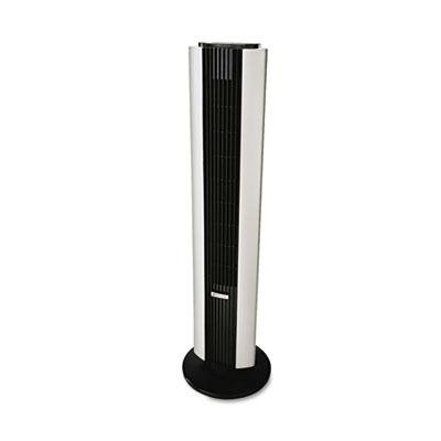 Bionaire Remote Control Tower Fan - Remote Control Tower Fan, Three Speed, Black/Silver