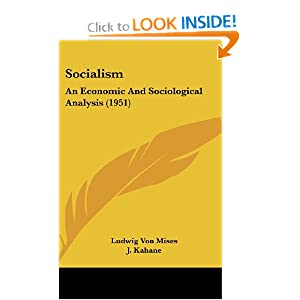 Download Socialism: An Economic And Sociological Analysis (1951) ebook