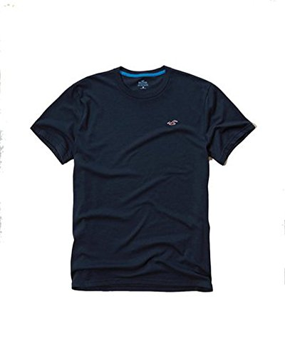Hollister Uomo Slim Fit Collo a V e tasca T-shirt Navy Crew 1099 Medium