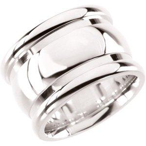 Genuine IceCarats Designer Jewelry Gift Sterling Silver Fashion Ring. Fashion Ring In Sterling Silver Size 7