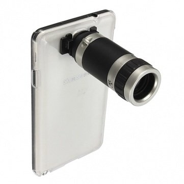 8X Zoom Phone Telescope Lens Case Kit For Samsung Galaxy Note3 N9000