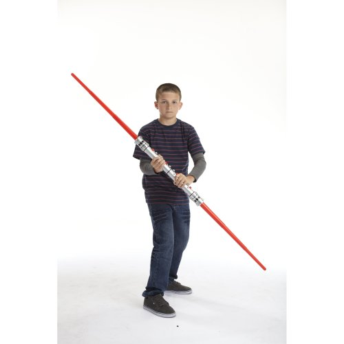 Star Wars Darth Maul Double-Bladed Lightsaber Toy New | eBay