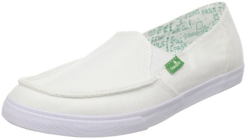 Sanuk Women's June Bug Sidewalk Surfer,White,7 M US