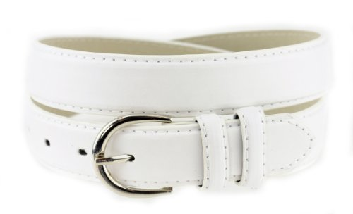 Nyfashion101 Women\'s Basic Leather Dressy Belt w/ Round ...