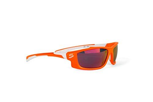 spiuk-spicy-gafas-de-ciclismo-unisex-color-naranja-mate-blanco