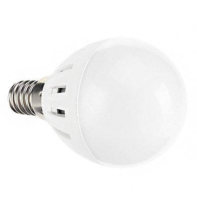 G45 E14 3W 15Xsmd 2835 300Lm 6000K Cool White Light Led Globe Bulbs(Ac 85-265)