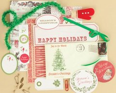 Christmas Collection Vintage Findings Medium Kit (making memories)