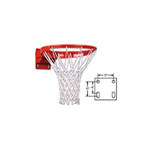 First Team Tube Tie/Adjustable Competition Breakaway Basketball Goal