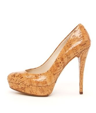 Kors Michael Kors Cyprien Shiny Cork Pump Natural (6.5)