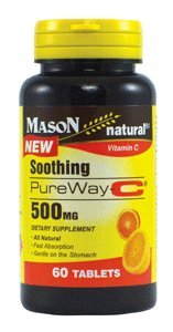 Mason Natural Soothing Pureway-C 500 Mg Tablets - 60 Ea
