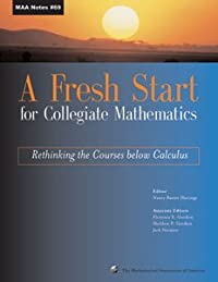 A FRESH START FOR COLLEGIATE MATHEMATICS