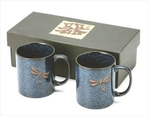 Dragonfly Porcelain Coffee Mug