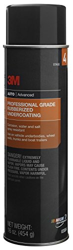 3M 03584 Professional Grade Rubberized Undercoating - 16 oz. - Case of 6