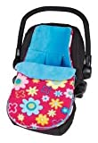 Baby - Fun & Funky Car Seat Footmuff - Flower - Clair de Lune