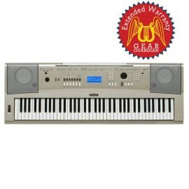 Yamaha Ypg-235 76-Key Portable Grand Keyboard With Gear Guardian Extended Warranty
