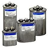 FAST SHIPPING! GE Genteq Capacitor round 45/5 uf MFD 370 volt 97F9895 (replaces old GE# Z97F9895), 45 + 5 MFD at 370 volts