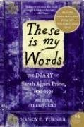 These Is My Words by Nancy Turner at Amazon.com