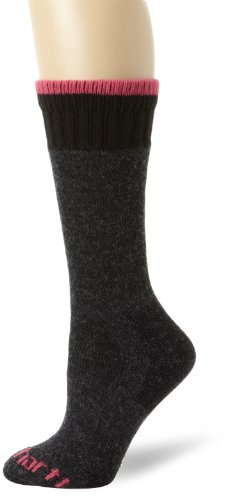 Carhartt Women'S Extremes All-Season Boot Sock,Charcoal/Multi,Medium